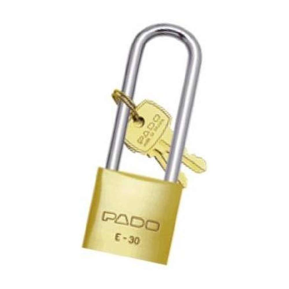 cadeado sm haste longa pado e - 45 / 75 mm super