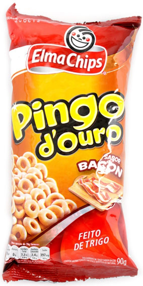 ELMA CHIPS PINGO DE OURO BACON (300004324) 90 BG