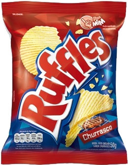 ELMA CHIPS RUFFLES CHURRASCO (300004330) 50 BG