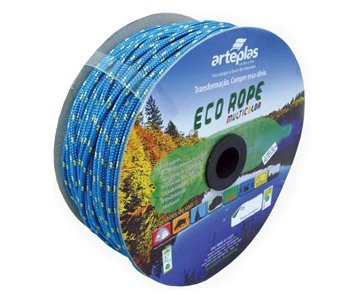corda eco rope 06mm colorida