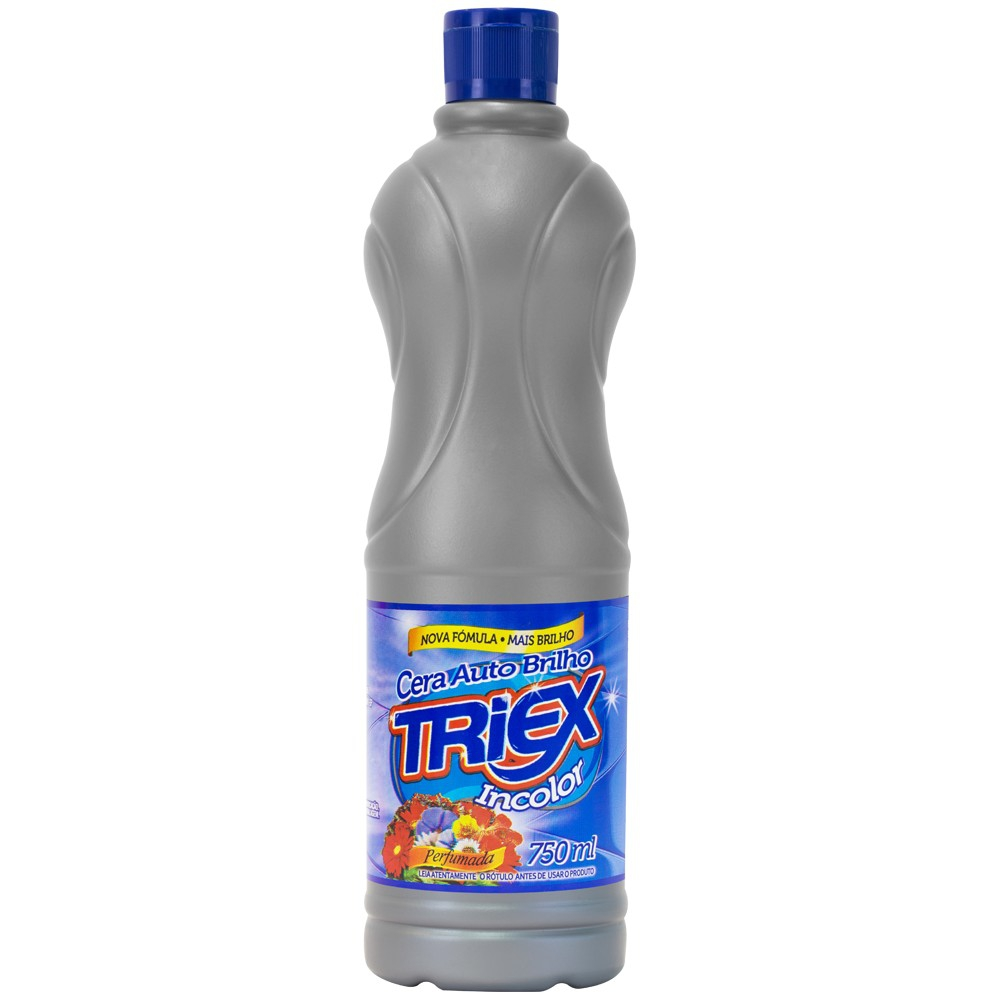 CERA TRIEX AUTO BRILHO 750 ML - INCOLOR