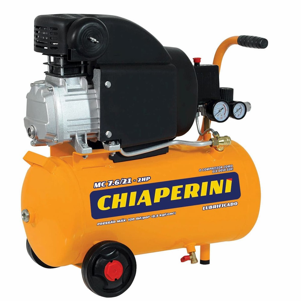 motocompressor 7,6 x 24l x 2 hp 220v