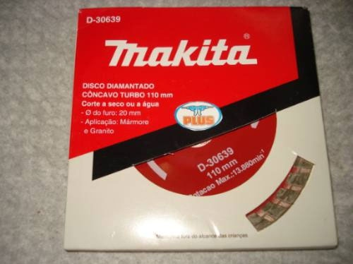 DISCO DIAMANT MAKITA D-30639 TURBO CONCAVO